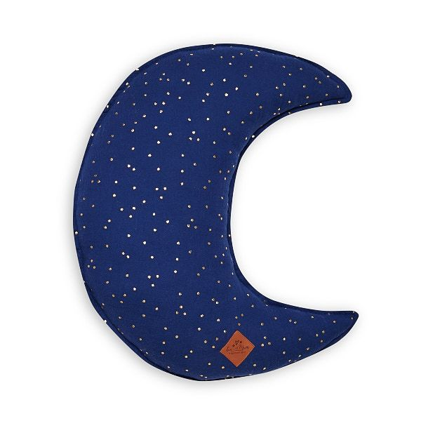 Moon Pillow - Navy