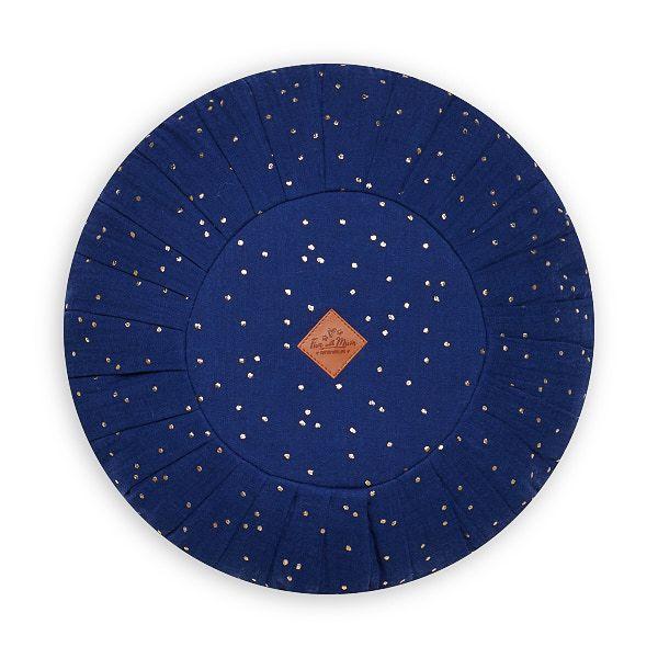 Round Pillow - Navy