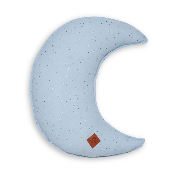 Mond Kissen - Blue