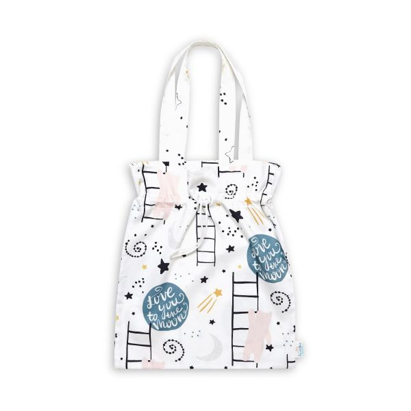 Drawstring Bag - Love to the Moon
