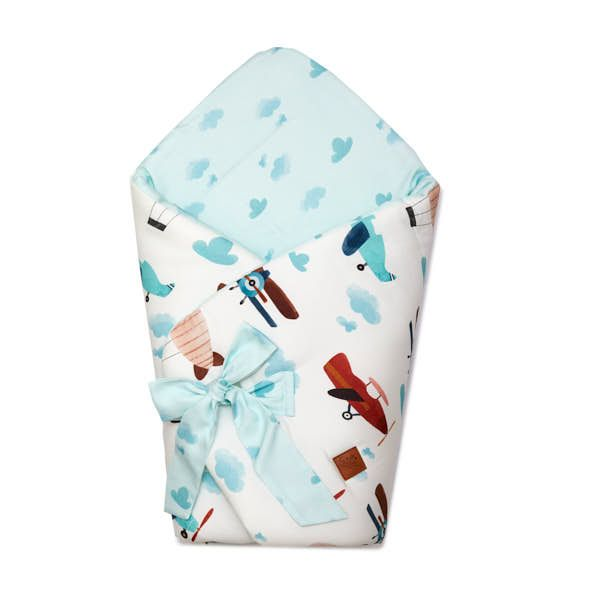 Swaddle Sleeping Bag - Airplane