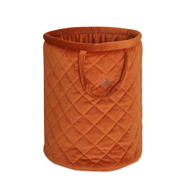 Basket for Toys - Velvet - Ginger