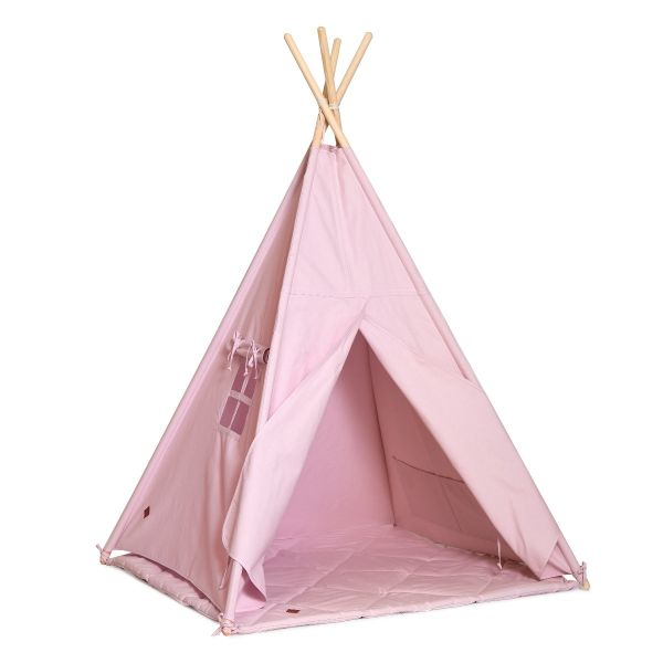 Namiot Tipi + Mata - Powder Pink