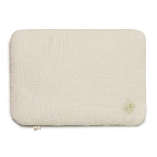 Junior Bed Pillow L - Ecru