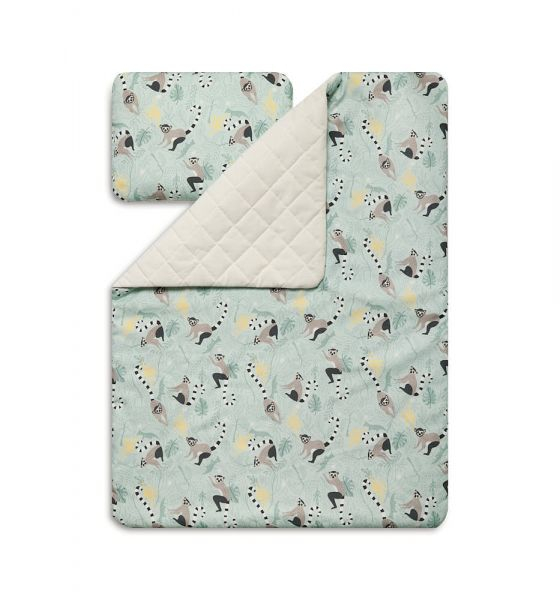 Toddler Blanket Set M - Lemur