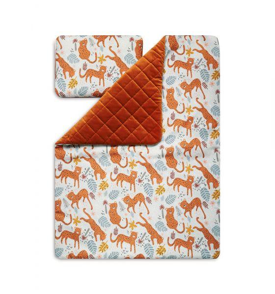 Toddler Blanket Set M - Leopard