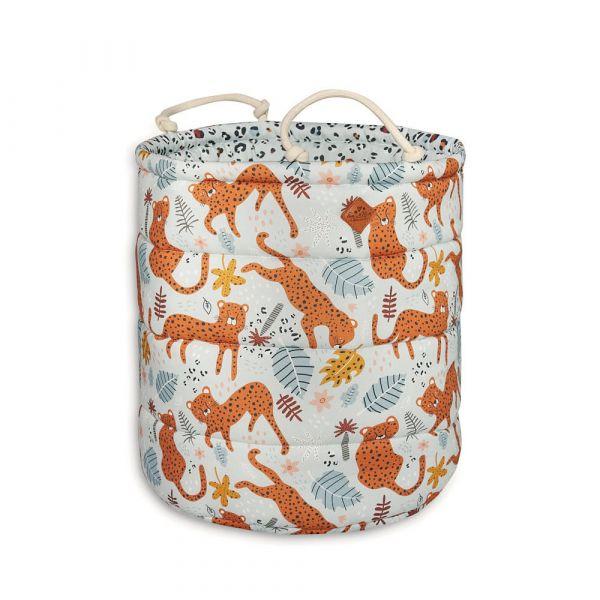 Basket for Toys - Leopard