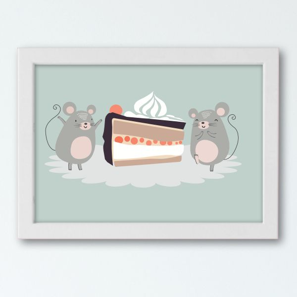Pictorial Stories - Mice White