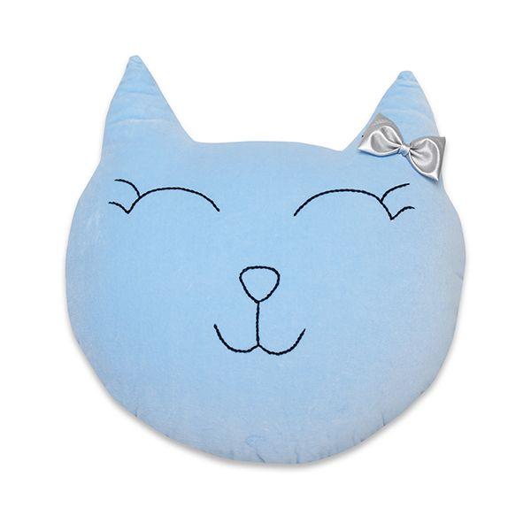Poduszka Kot - Blue