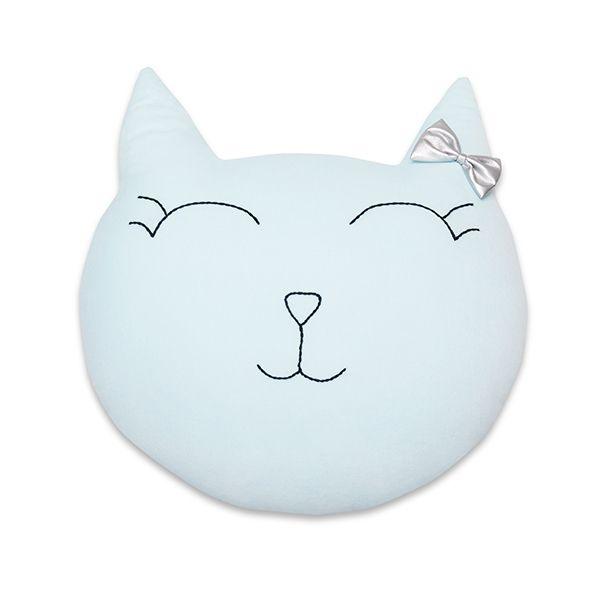 Poduszka Kot - Mint