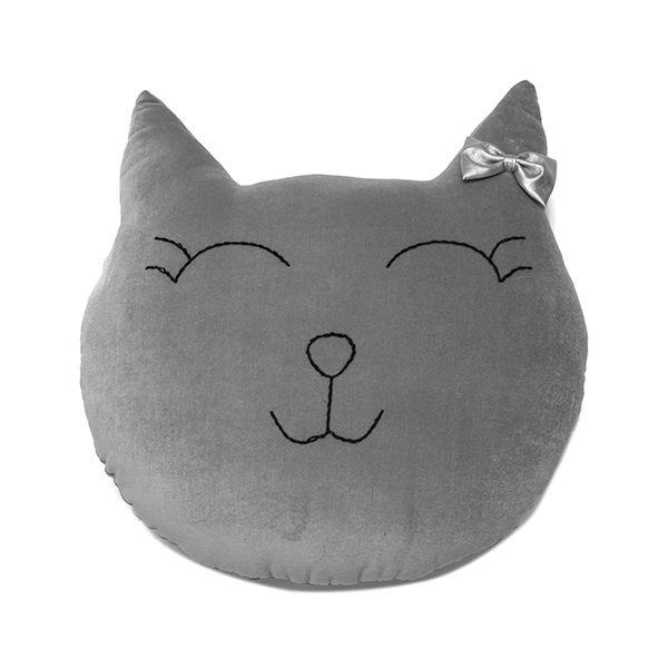 Poduszka Kot - Grey
