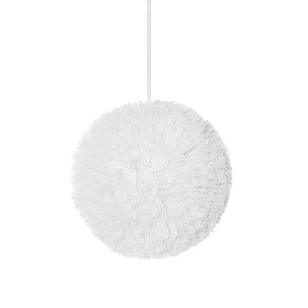 Pompon 20 cm - White