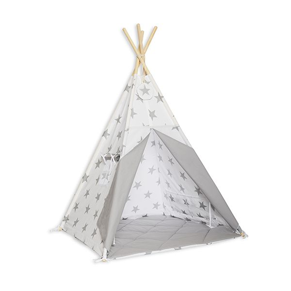 Namiot Tipi + Mata - Bright Grey