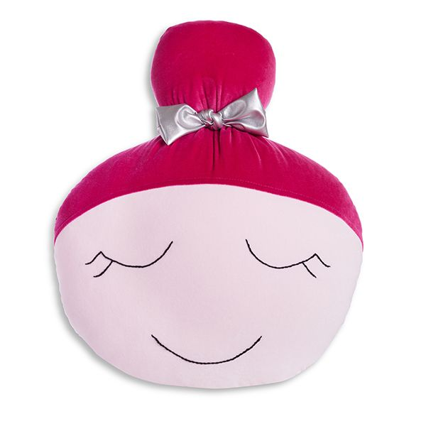 Poduszka Lalka - Pink Fuchsia