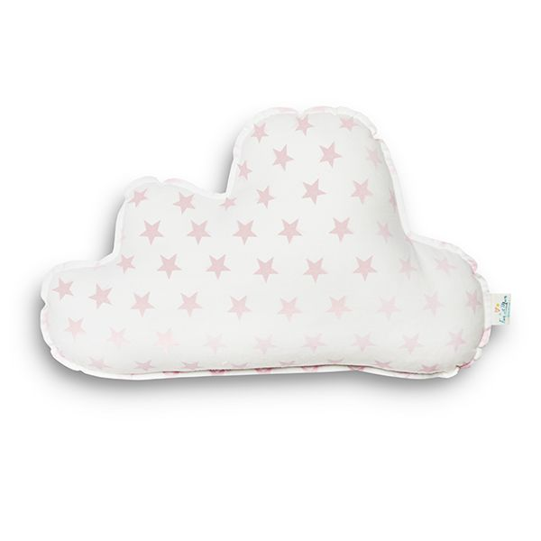 Poduszka - Cloud in Pink Stars