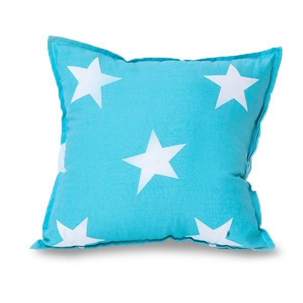 Poduszka - Square Stars Turquoise