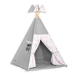 Teepee Tent + Floor Mat - Unicorn