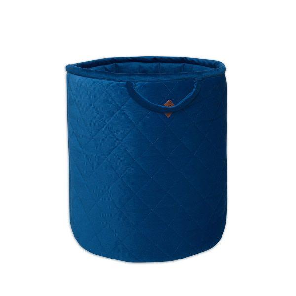 Kosz na Zabawki - Velvet - Navy Blue