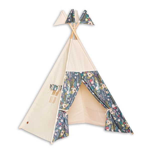 Tente Tipi - Floral Blooming