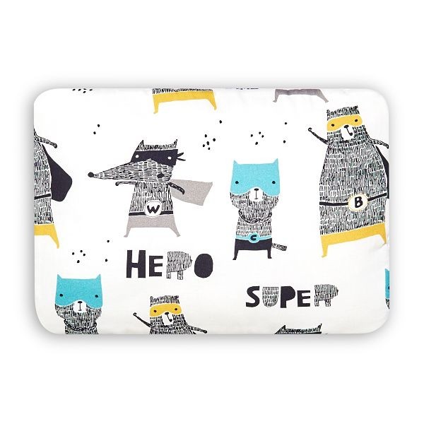 Junior Bed Pillow L - Super Hero