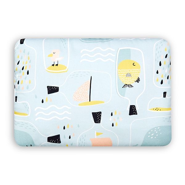 Toddler Bed Pillow M - Fish in Jar