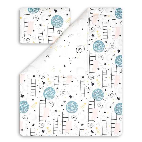 Toddler Bedding Set M - Love to the Moon