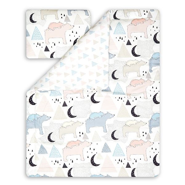 Junior Bedding Set L - Bear Family