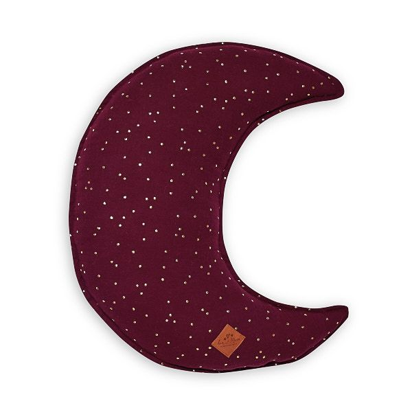 Moon Pillow - Burgundy