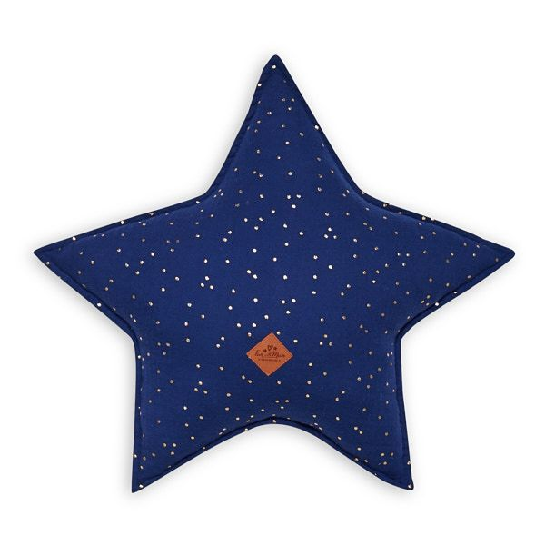 Star Pillow - Navy