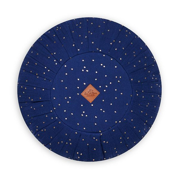 Round Pillow - Navy
