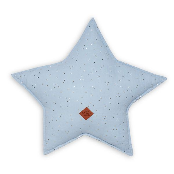 Star Pillow - Blue