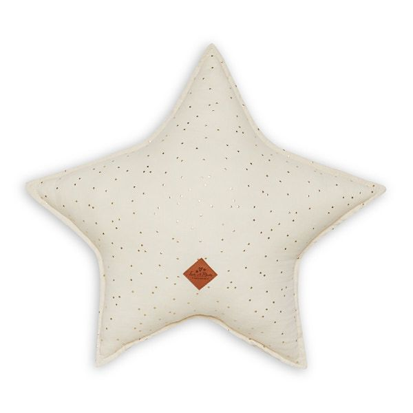 Star Pillow - Ecru