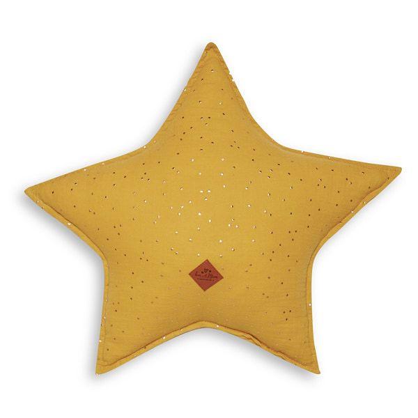Almohada estrella - Mustard