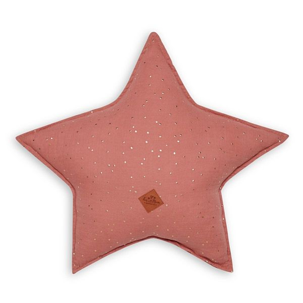Almohada estrella - Coral
