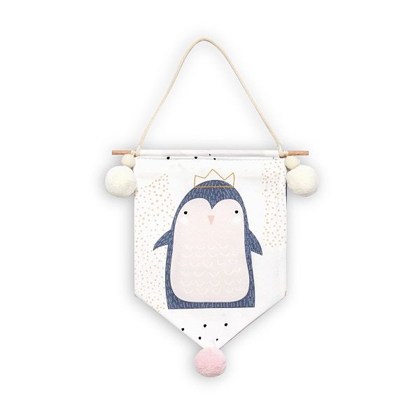 Wimpel - Lovely Pinguin