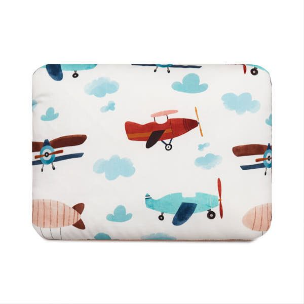 Baby Bed Pillow S - Airplane