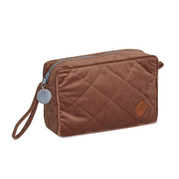 Trousse de toilette Velvet - Brown Mocca
