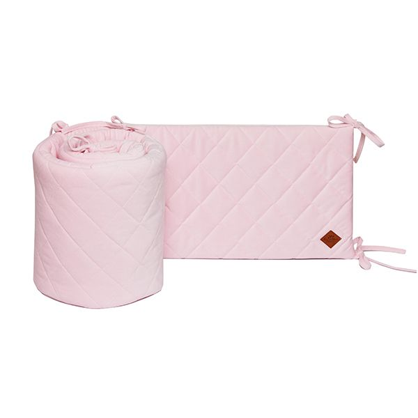 Babybett Nestchen 70x140 - Velvet - Pink