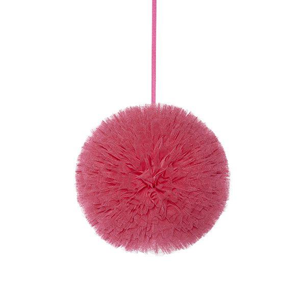 Pompon 20 cm - Coral Pink