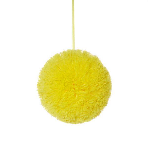 Pompon 20 cm - Yellow