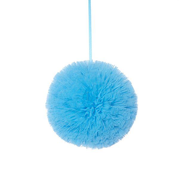 Pompon 20 cm - Turquise