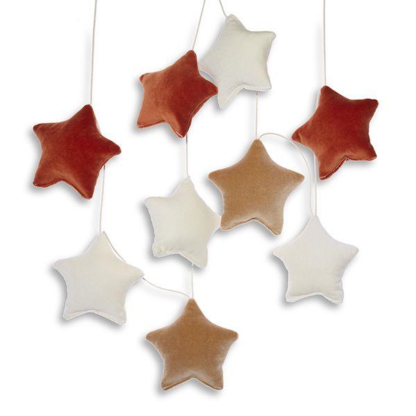 Girlanda - Velvet Ginger Stars