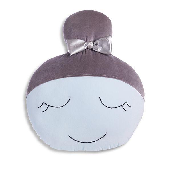Poduszka Lalka - Mint Grey