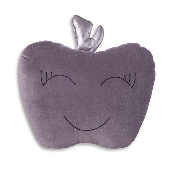 Poduszka Jabłko - Grey
