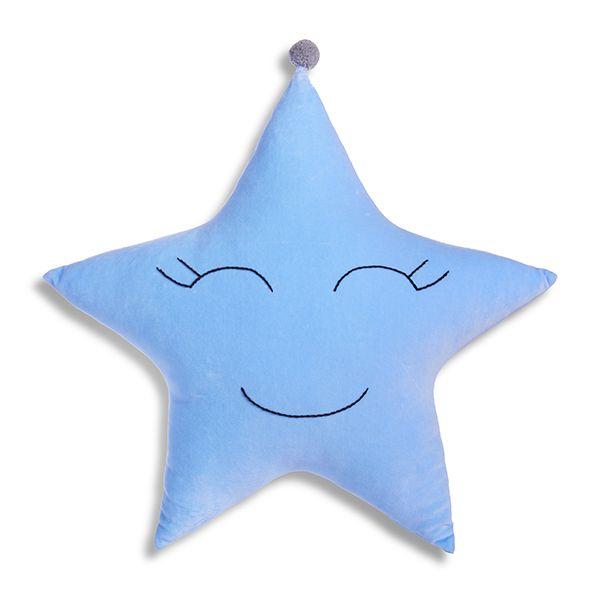 Poduszka Gwiazdka - Blue