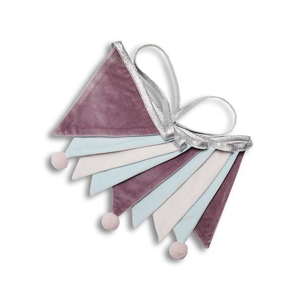 Girlanda - Velvet Lilac Silver