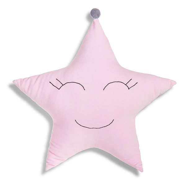 Star Pillow - Pink