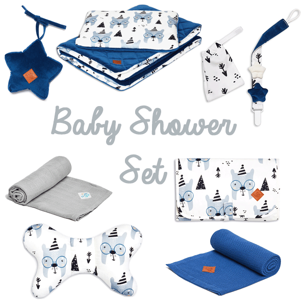 Baby Shower Set - Bear Face