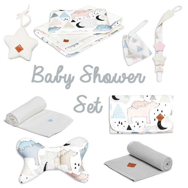 Baby Shower Set - Bear Family