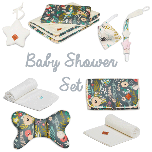 Baby Shower Set - Floral Blooming